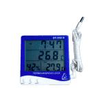 Termo-higrômetro Digital DT-250N Portátil Com sensor externo e Relógio