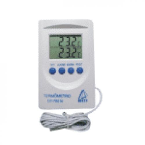 Termômetro Digital Indicador DT-700N Interno e Externo (-50 a 80°C)