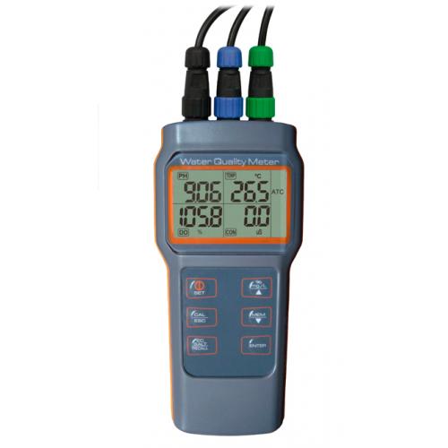 Medidor Multiparâmetro (pH/Cond/OD/Temp) - AK88
