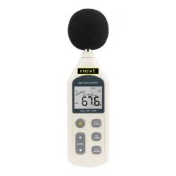 Decibelímetro Dígital Datallogger Software e Usb Mod. NDEC-02