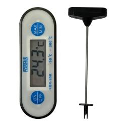 Termometro Digital Tipo Espeto a Prova D`Agua - FOR-650