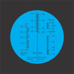Refratômetro Analógico (ARLA32) - SBC10