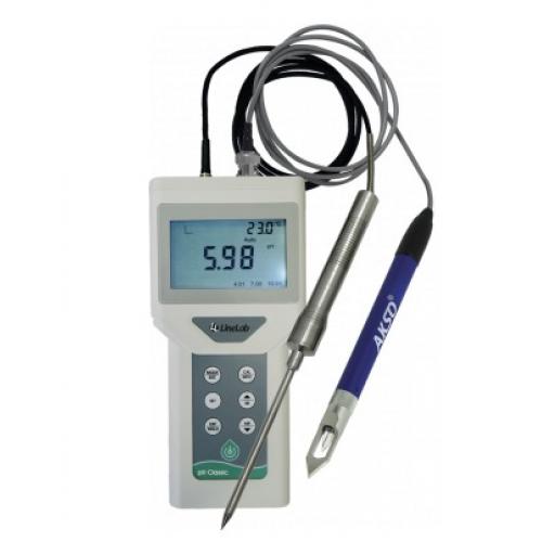 Medidor de pH Portátil (sem eletrodo de pH) - pH Classic + Eletrodo de Epox com Faca BNC